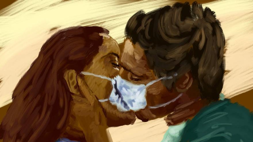 Corona kisses