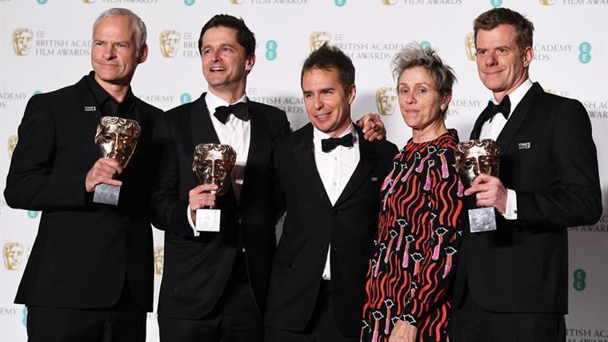 """""""Tres anuncios en las afueras"""", BAFTA a la mejor película"""