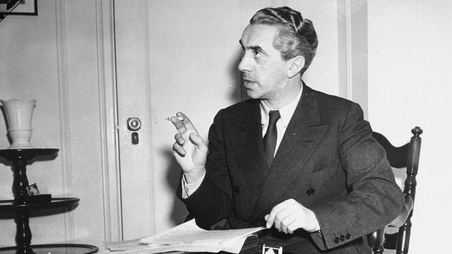 El escritor y político Ernst Toller, una imagen del archivo del Holocaust Memorial Museum.