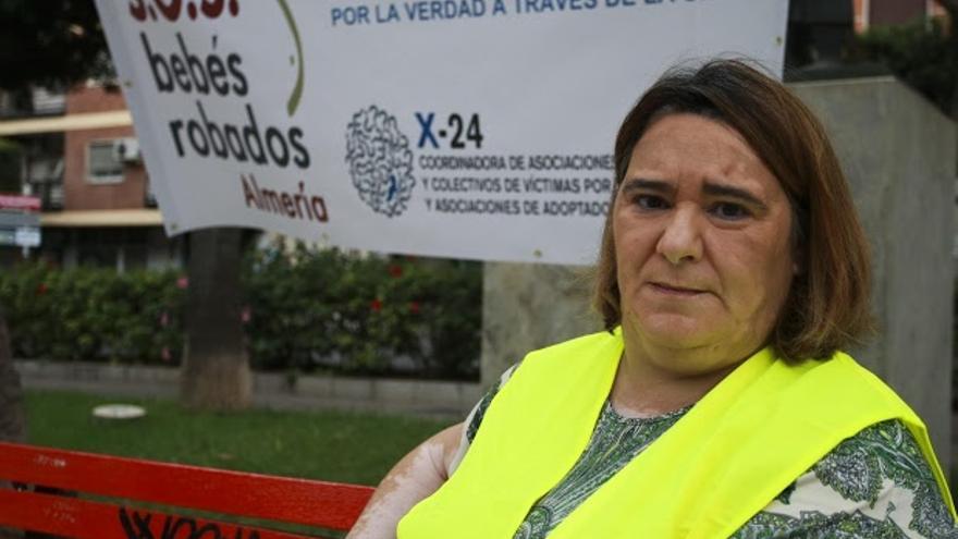 Ascensión López, víctima del robo de bebés durante el franquismo