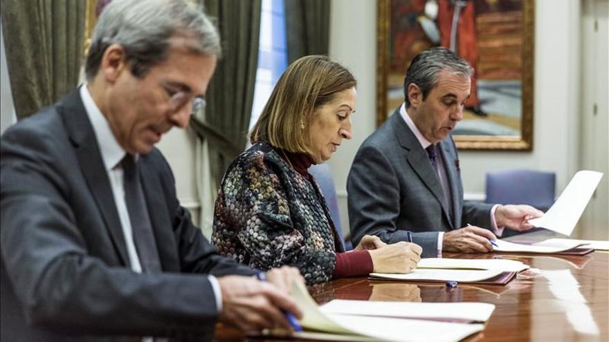 España y Francia sellan el convenio para la Autopista del Mar Vigo-Nantes