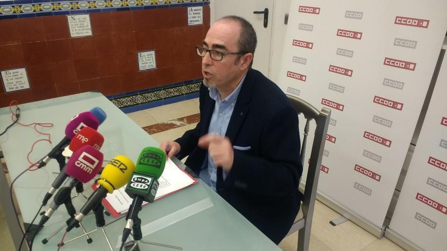 Paco de la Rosa, secretario gneral CCOO CLM