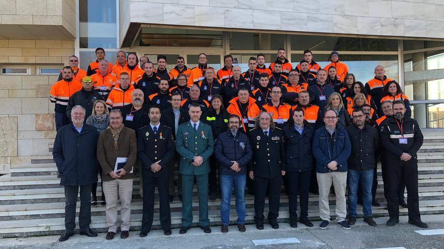 Cehegín acoge un encuentro de Protección Civil con más de un centenar de voluntarios