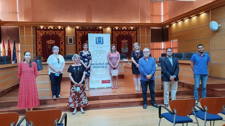 Presentación de los cursos y la sede permanente este jueves en Molina de Segura