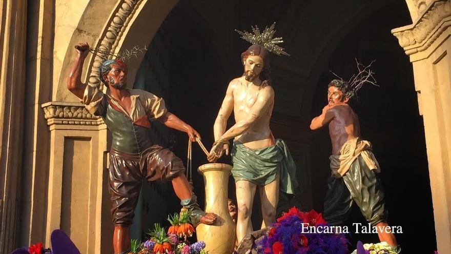 Paso de Los Azotes, de Francisco Salzillo (s. XVIII) / Encarna Talavera