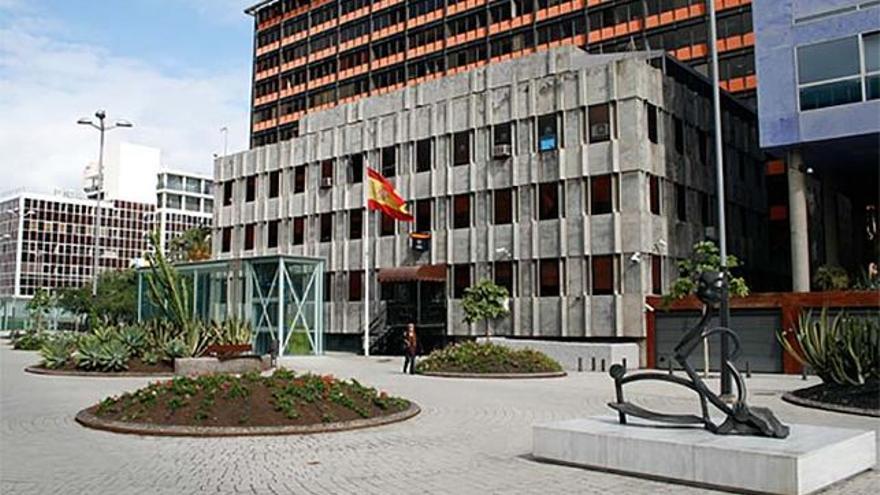 Comisaría de Distrito Centro de Las Palmas de Gran Canaria. Imagen de la web Policia.es.