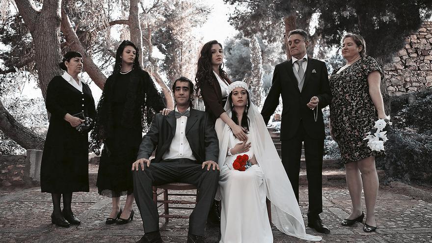 Escena de 'Bodas de sangre' versionada por Mariola Ponce