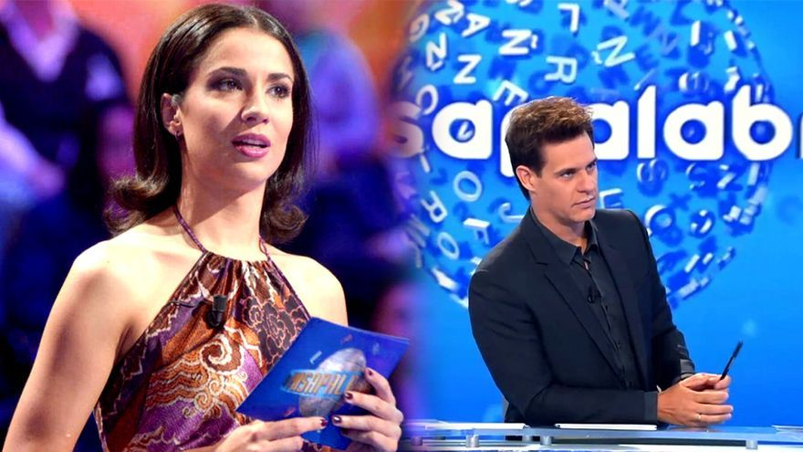 Silvia Jato y Christian Gálvez en 'Pasapalabra'