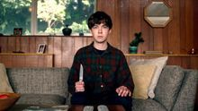 James (Alex Lawther) en la serie 'The End Of The F***ing World'