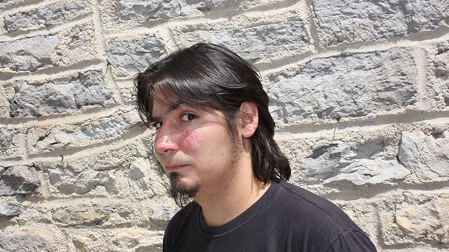 El cineasta alavés Paul Urkijo./ Fotografía: José Albaina.