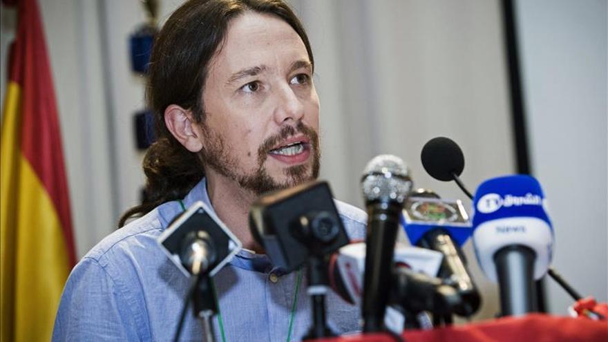 """Pablo Iglesias dice que el Sahara es """"un divorcio entre la casta y los españoles"""""""