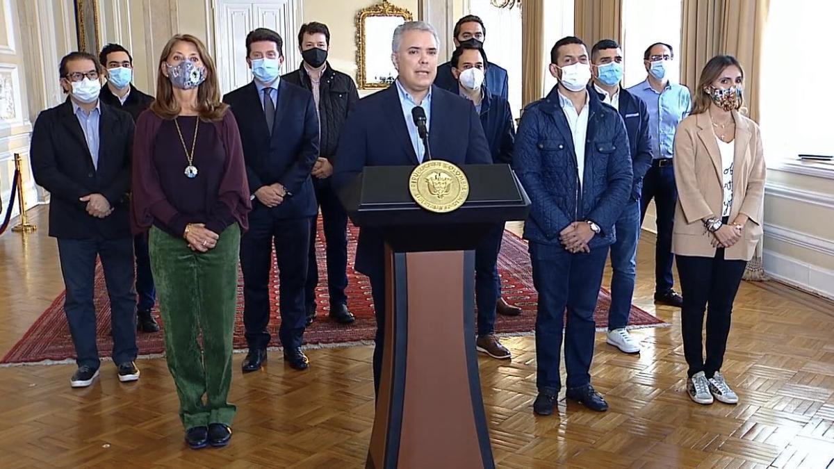 Duque anuncia que retira el proyecto de reforma tributaria que generó protestas