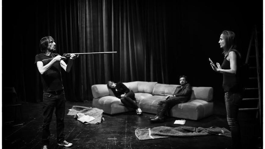El montaje 'Ejecución hipotecaria', sobre un desahucio, se estrena el día 30 en la Sala Mirador de Madrid //Foto: David Ruano