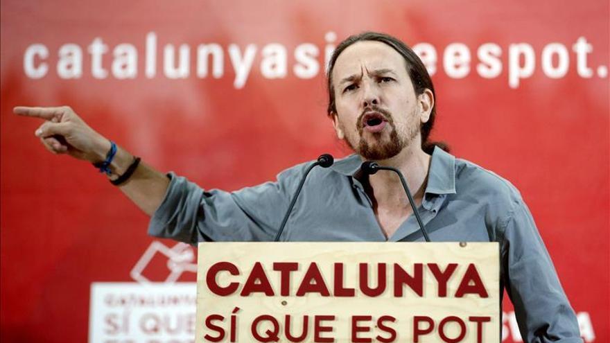 """Pablo Iglesias: """"Quiero ser el presidente de España que escuche a Cataluña"""""""
