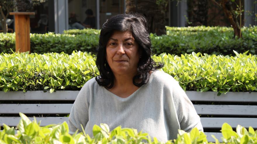 Almudena Grandes, en Sevilla.