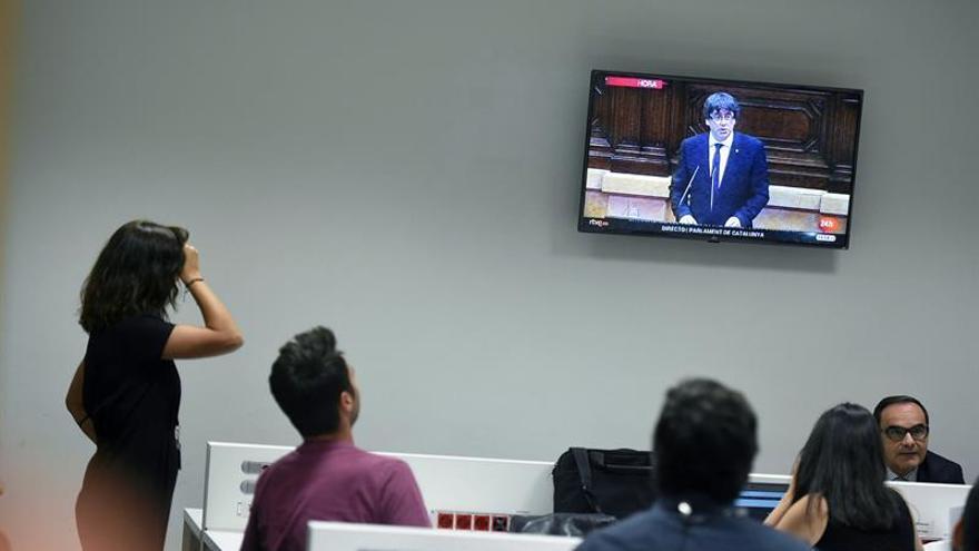 RSF denuncia la presión del Gobierno catalán a la prensa local y extranjera