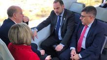 El ministro Ábalos ha participado en el viaje de prueba del tren entre las dos localidades