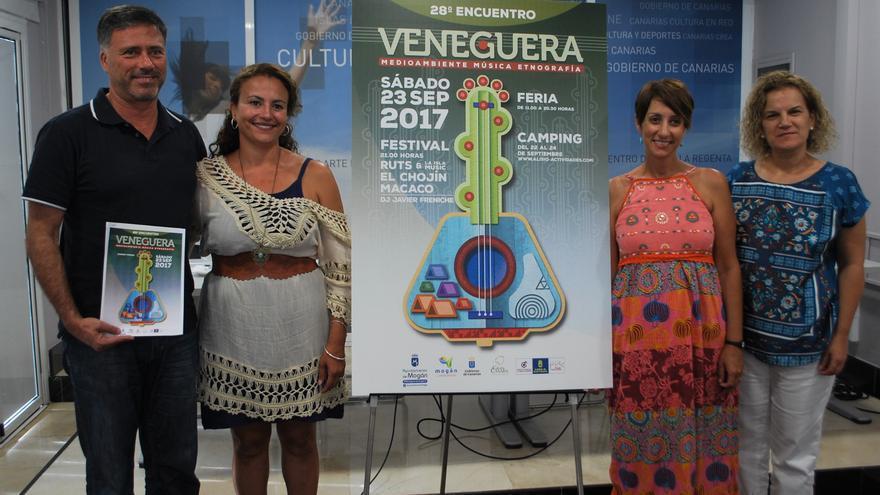 Presentación del Festival de Veneguera