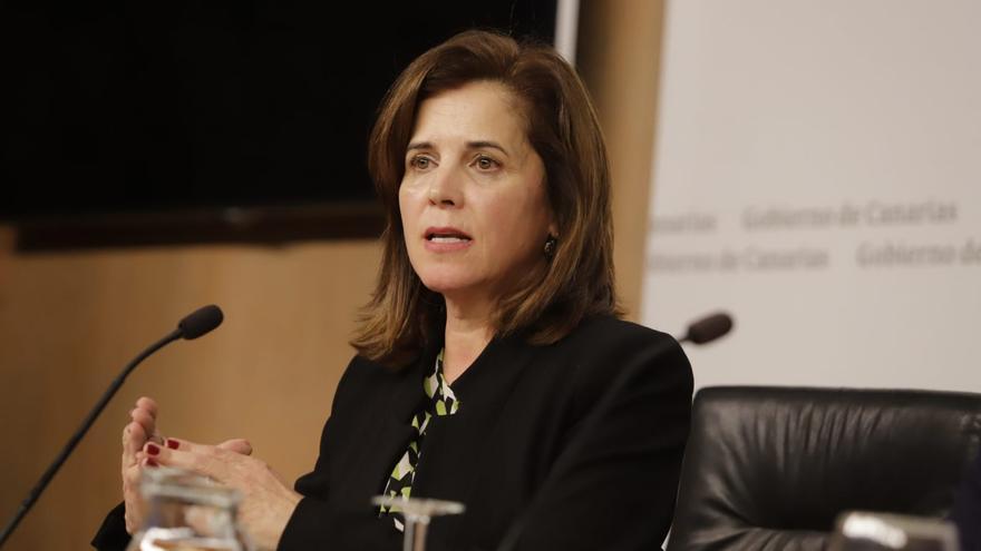 La exconsejera de Sanidad, Teresa Cruz.