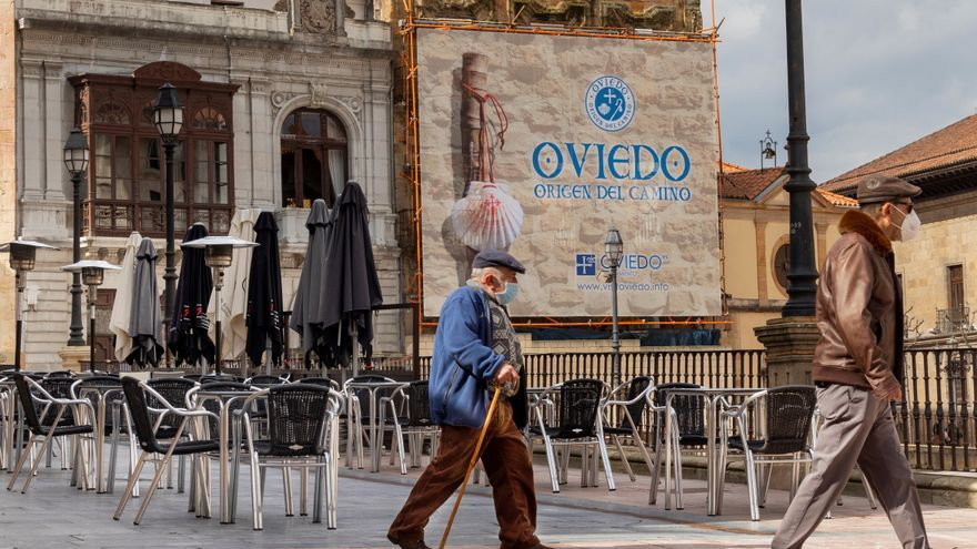 Oviedo, without chiringuitos in its San Mateo festivities