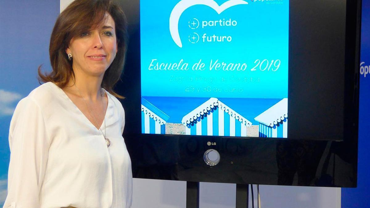 María Luisa Ceballos, en una imagen de archivo.