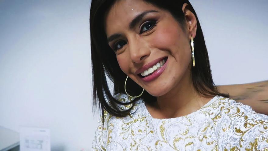 Miriam Saavedra en su videoblog