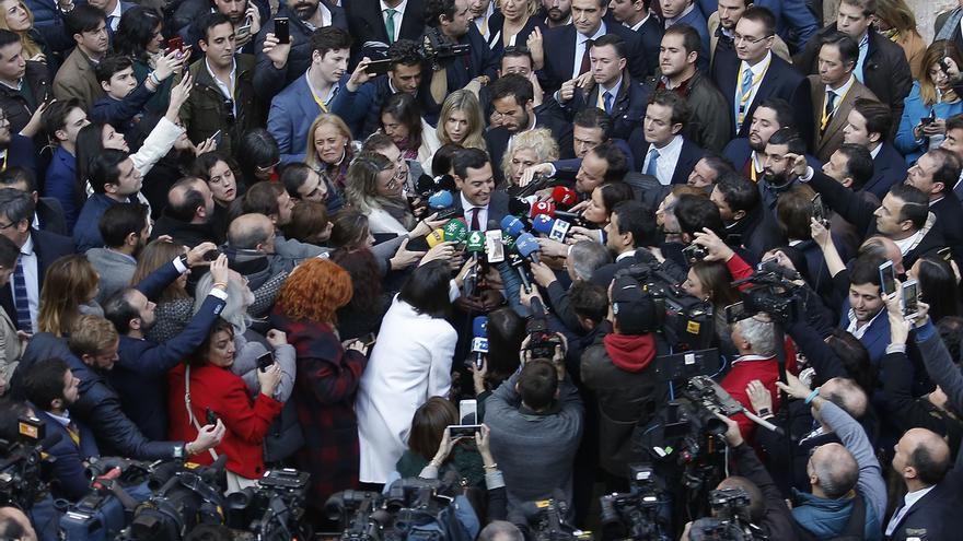 """Moreno, tras ser elegido presidente: """"Siempre creí en mí, he trabajado y la suerte me ha sonreído"""""""