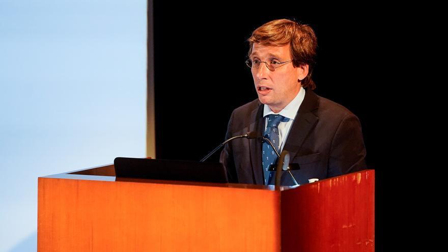 José Luis Martínez-Almeida en el Museo del Prado durante la presentación de la candidatura de la capital 'Madrid: Paisaje de la Luz' a la lista de Patrimonio Mundial de la UNESCO.