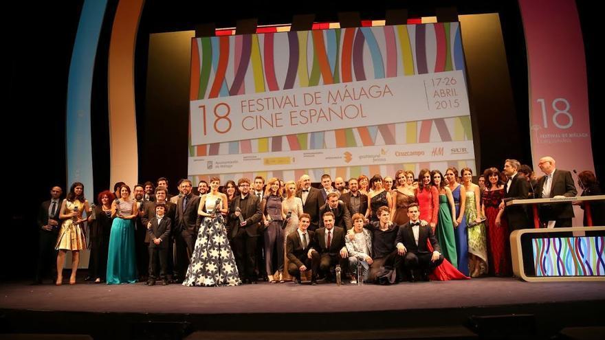 Premiados en el Festival de Cine de Málaga.