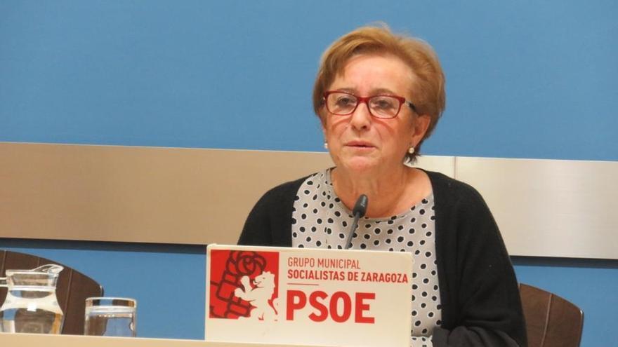 La consejera del PSOE en Zaragoza Vivienda, Lola Campos