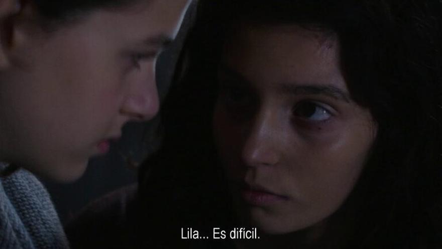 Fotograma de la serie La amiga estupenda (HBO).