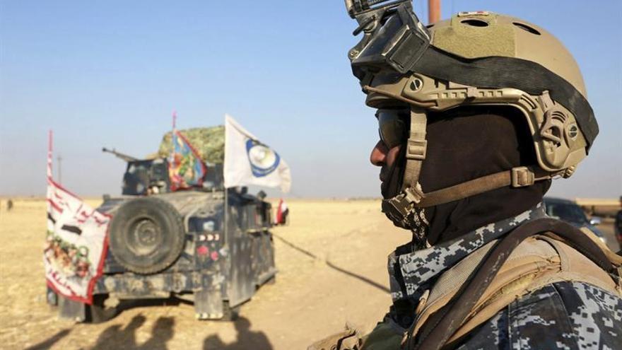 Irak anuncia el control total de la frontera con Siria, el último reducto del EI