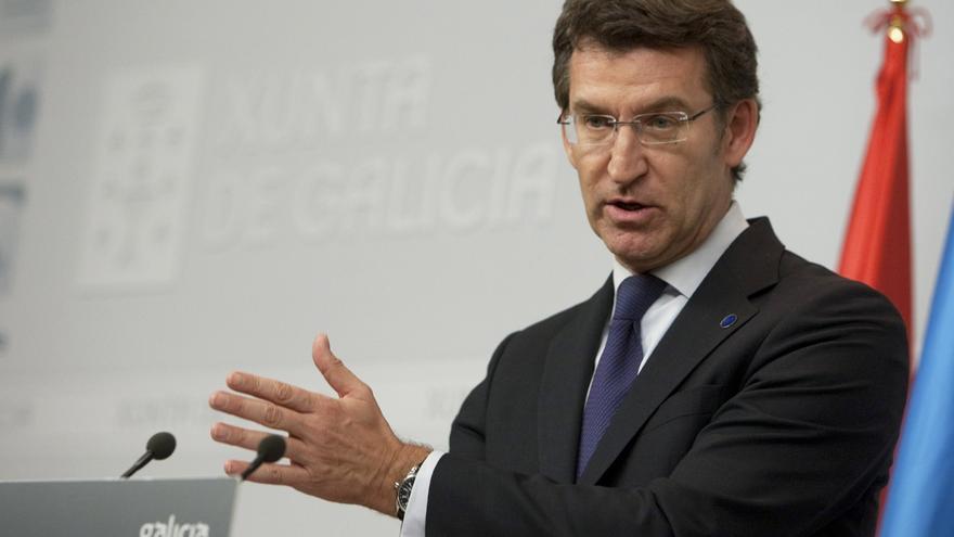 """Feijóo rechaza """"juicios paralelos"""" y llevar a Cámara """"el dolor de las víctimas"""" de Angrois """"para echarlo"""" sobre el PSOE"""