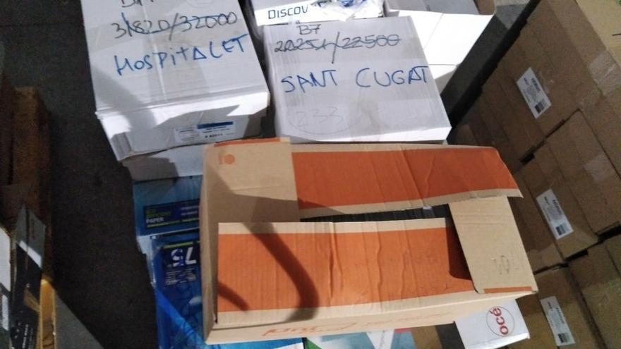 La Guardia Civil intervino en Unipost más de 45.000 sobres nominales para constituir las mesas del 1-O