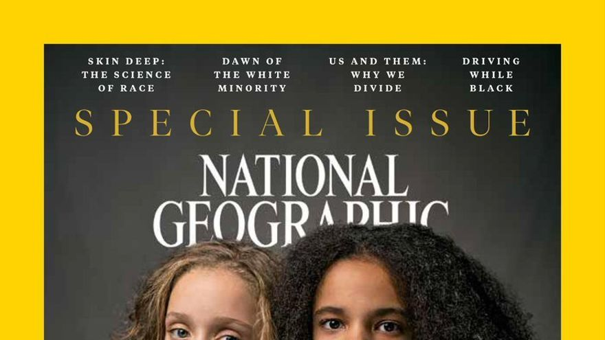 La portada de National Geographic de abril