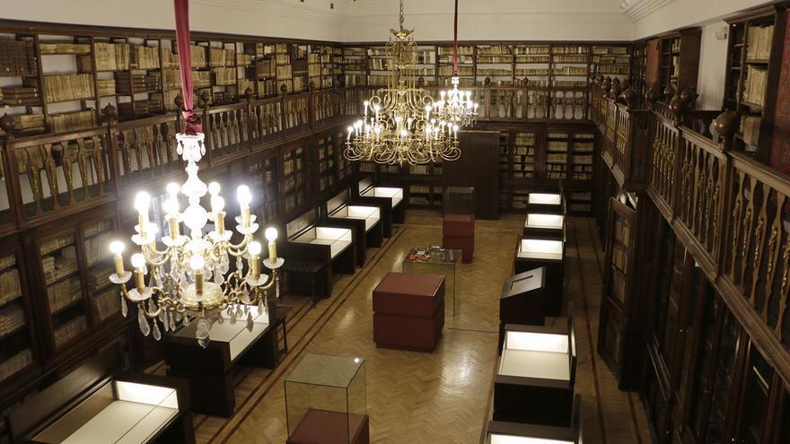 Sala Borbón-Lorenzana de la Biblioteca de Castilla-La Mancha