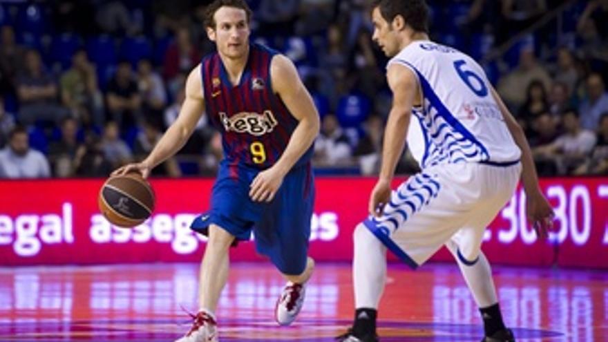 El Barcelona Arrolla Al Lucentum En El Primer Partido