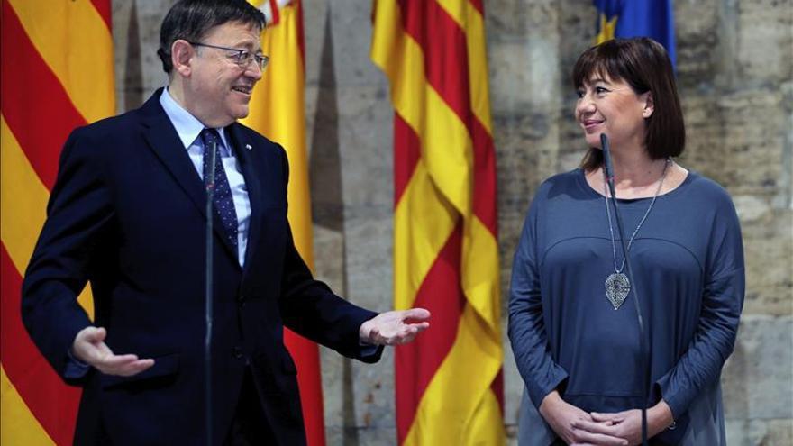 Puig y Armengol defienden cumplir la ley en Cataluña, pero piden diálogo