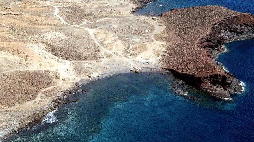 Playa de Abades, en el municipio tinerfeño de Arico