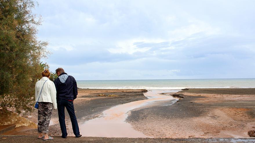 Playa de San Agustín.