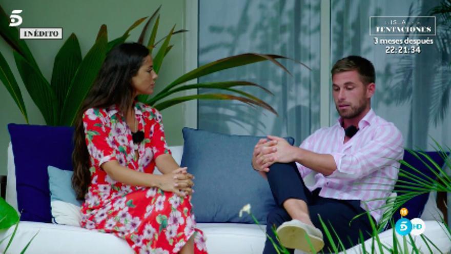 Tom y Melyssa el día después de la hoguera de confrontación