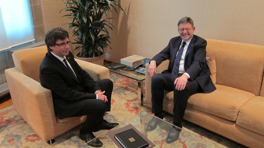 Puigdemont y Ximo Puig encabezarán este lunes la cumbre por el Corredor Mediterráneo
