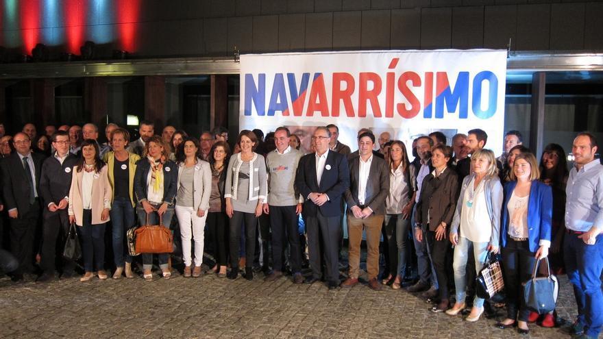 """Javier Esparza dice que el 24 de mayo """"está en juego Navarra"""" en las elecciones """"más decisivas"""""""