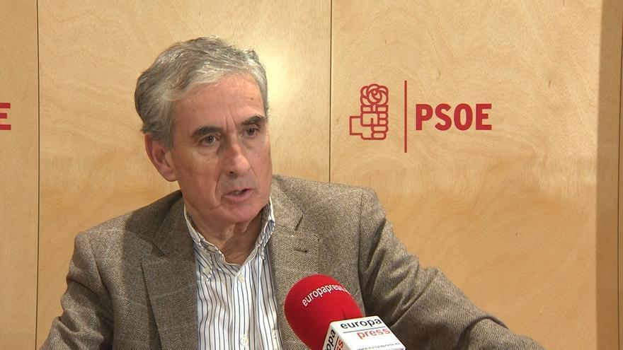 """Jáuregui ve en Podemos la """"obsesión"""" antiPSOE de los comunistas y cree que se desinflará en los ayuntamientos como Bildu"""