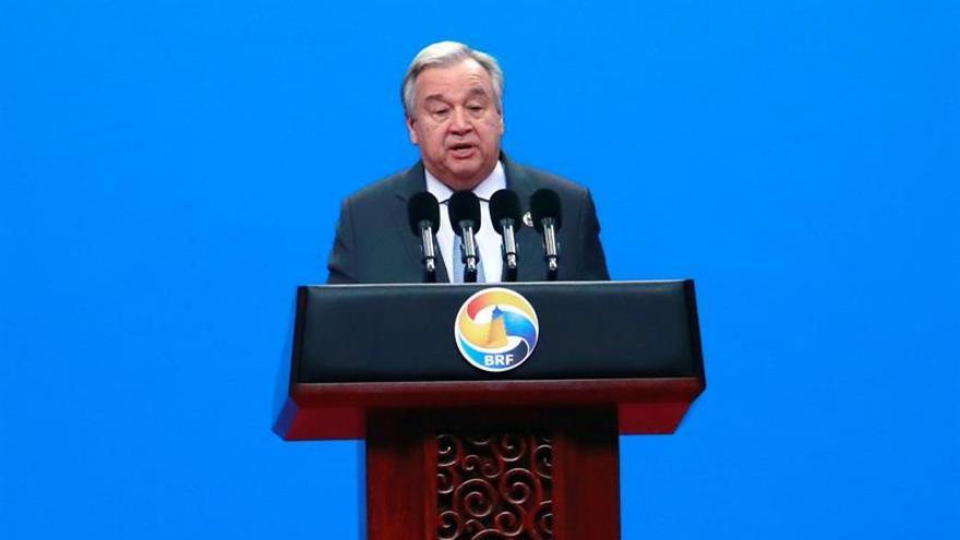 Guterres: la Franja y la Ruta ayudará a objetivos de desarrollo sostenible