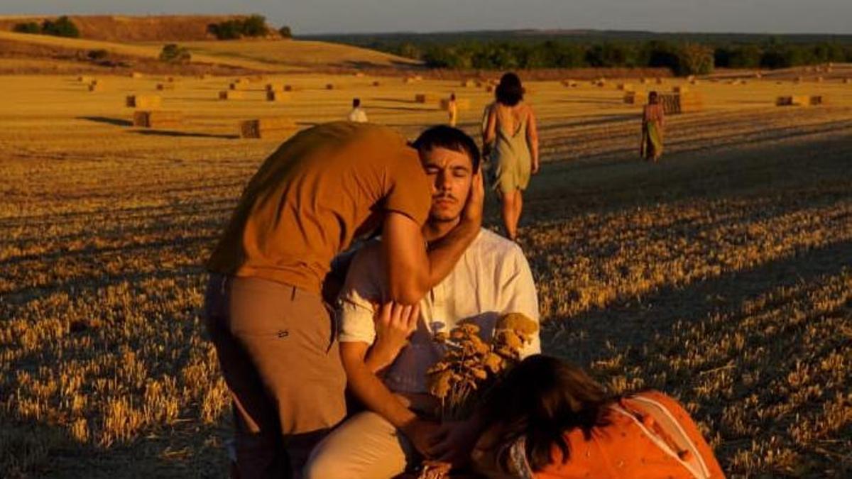 Fragmento del videoclip 'De Mayorga a Tiedra' de Nacho Prada.