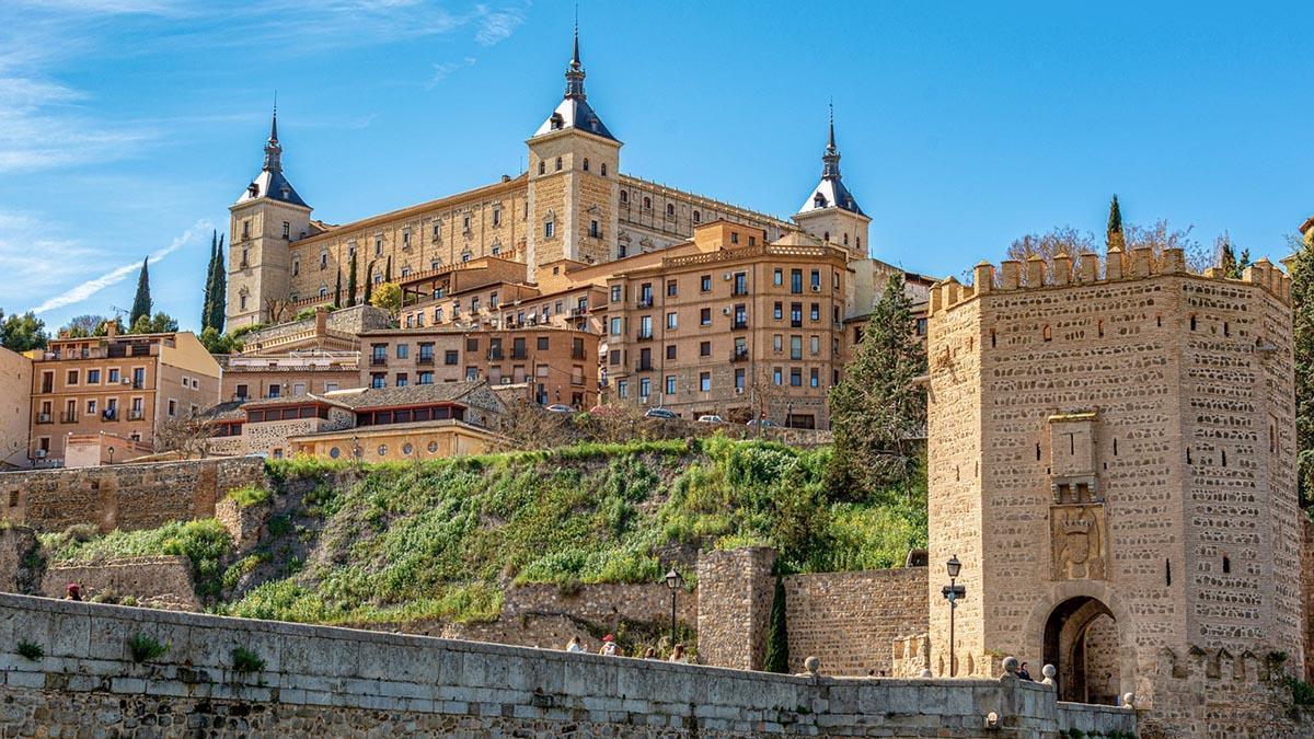 Toledo desde el puente de Alcántara.