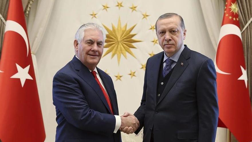 Tillerson constata en Turquía las diferencias sobre Siria y los kurdos