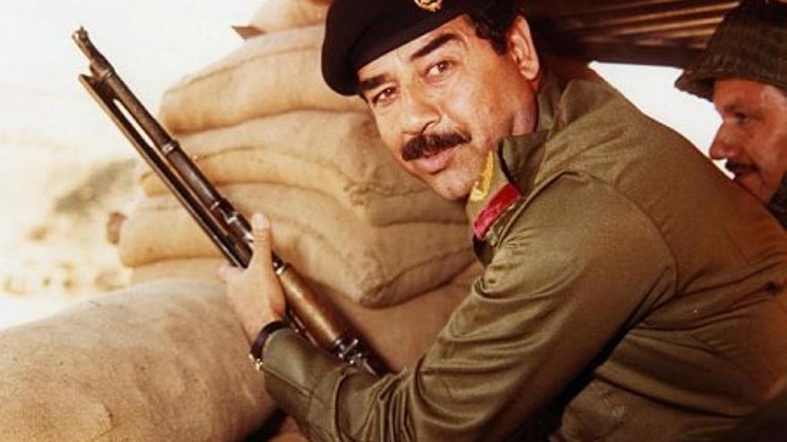 El expresidente iraquí Sadam Hussein, en una imagen de archivo.