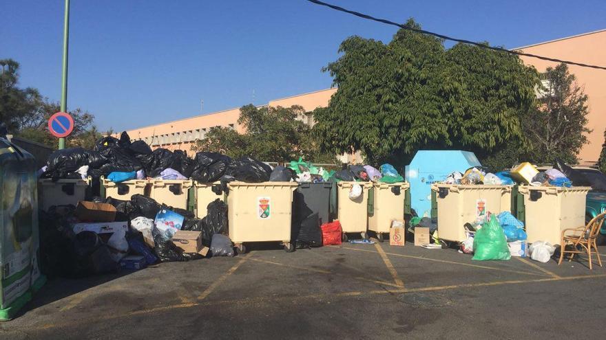 Huelga en el servicio de basuras de Mogán